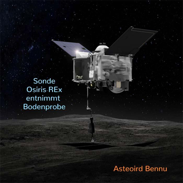 Asteroid Bennu Größe