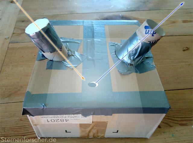 Sonnenfinsternis camera obscura basteln oder handy trick sofiselfie
