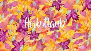 Zauber ein Lächeln - Herbstlaub (2017)